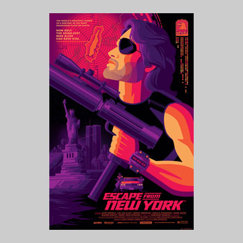 Escape From New York Variant Art Print