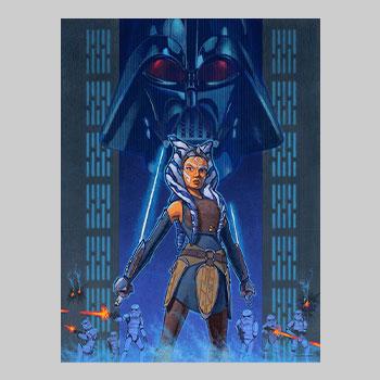 Rebel Resolve Art Print