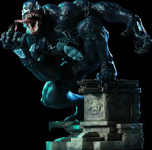Venom Polystone Statue