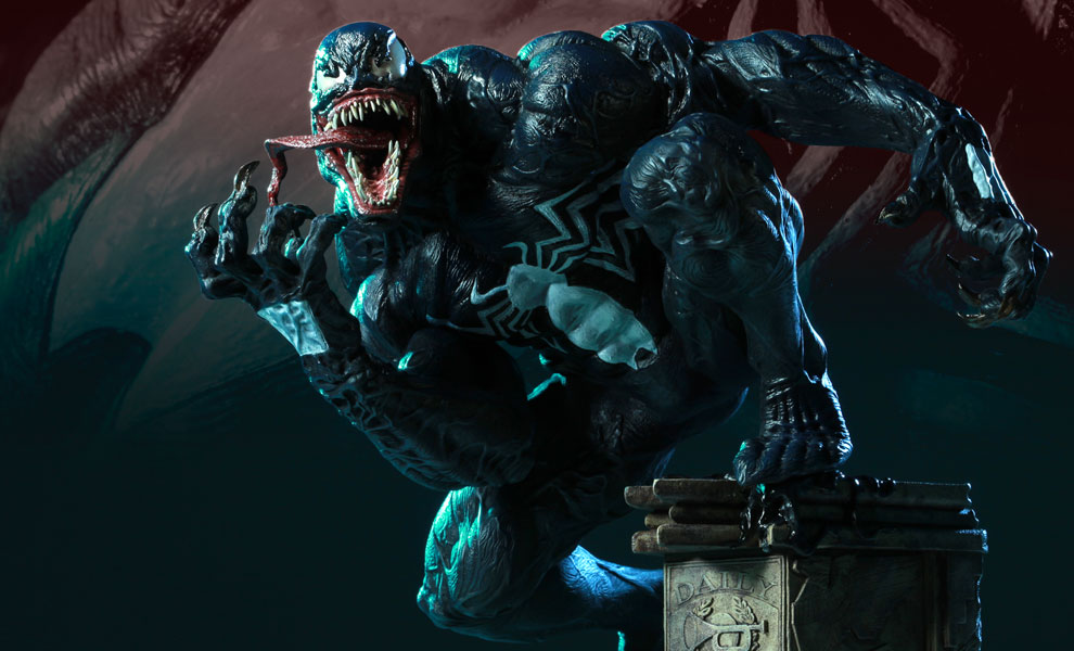 Gallery Feature Image of Venom Polystone Statue - Click to open image gallery