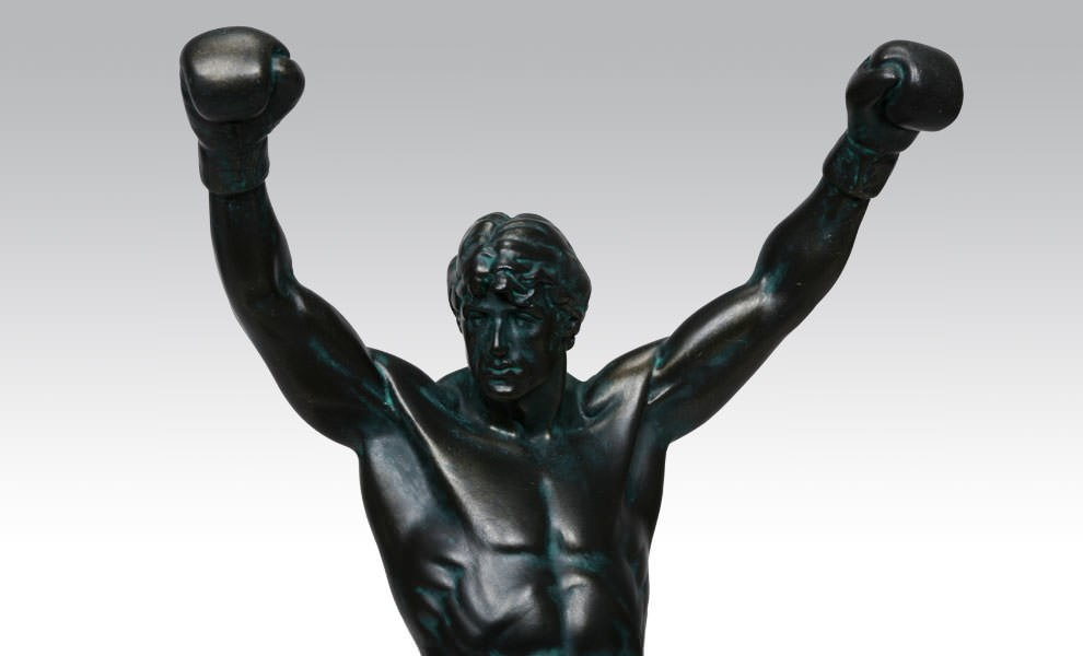 Gallery Feature Image of Rocky Polystone Statue - Click to open image gallery