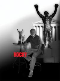 Gallery Image of Rocky Polystone Statue