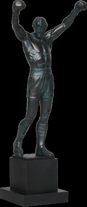 Rocky Polystone Statue