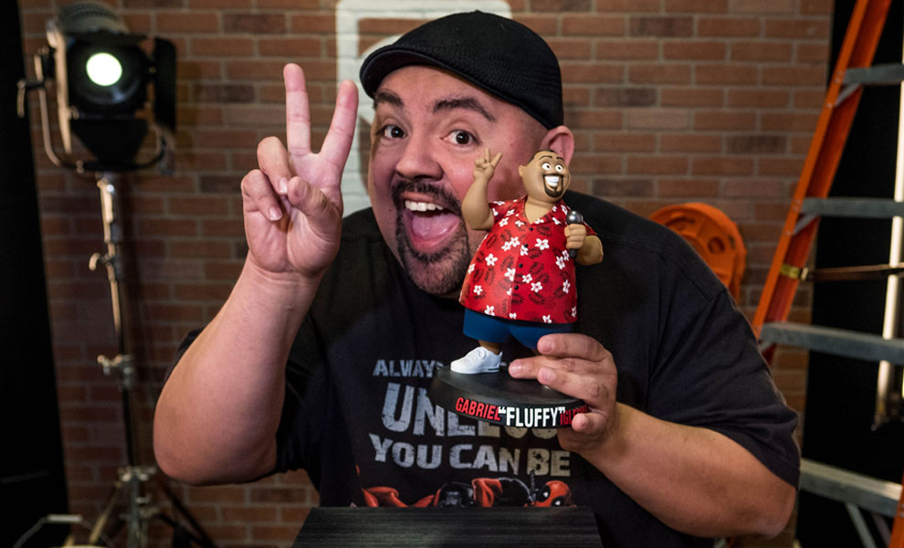 "Gallery Feature Image of Gabriel ""Fluffy"" Iglesias Designer Collectible Toy - Click to open image gallery"