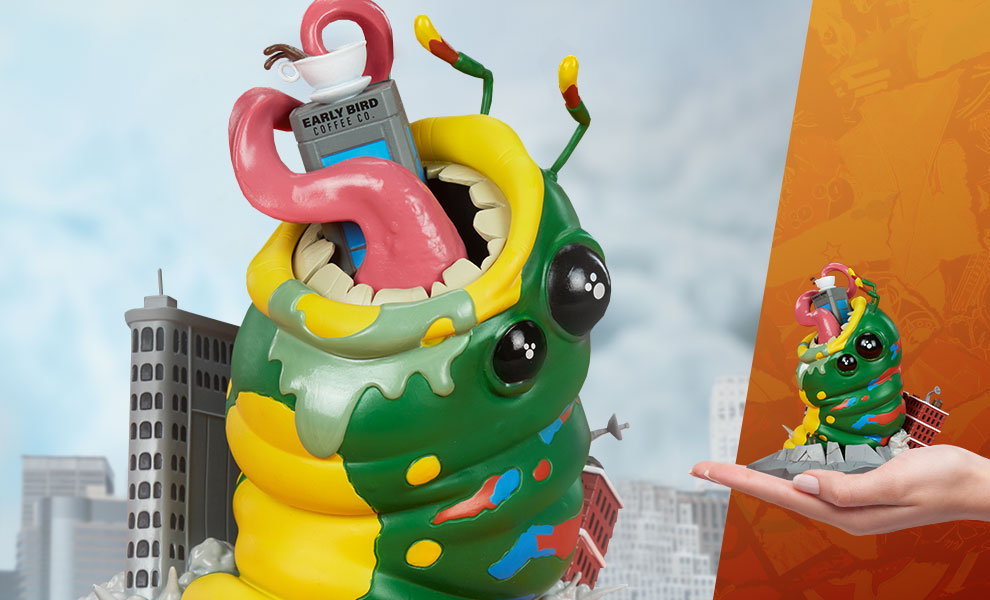 Gallery Feature Image of Wrath of Wormzilla! Designer Collectible Toy - Click to open image gallery