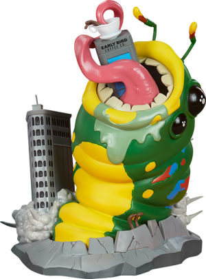 Wrath of Wormzilla! Designer Toy