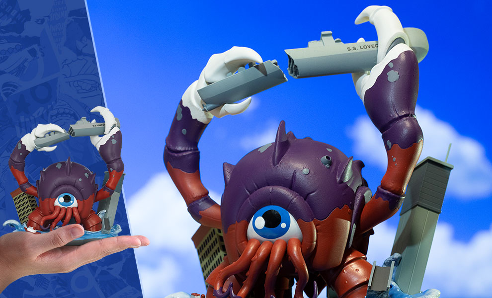 Gallery Feature Image of Crabthulu: Terror of the Deep! Designer Collectible Toy - Click to open image gallery