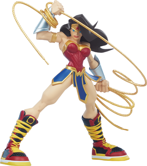 Unruly Industries(TM) Wonder Woman Designer Collectible Toy