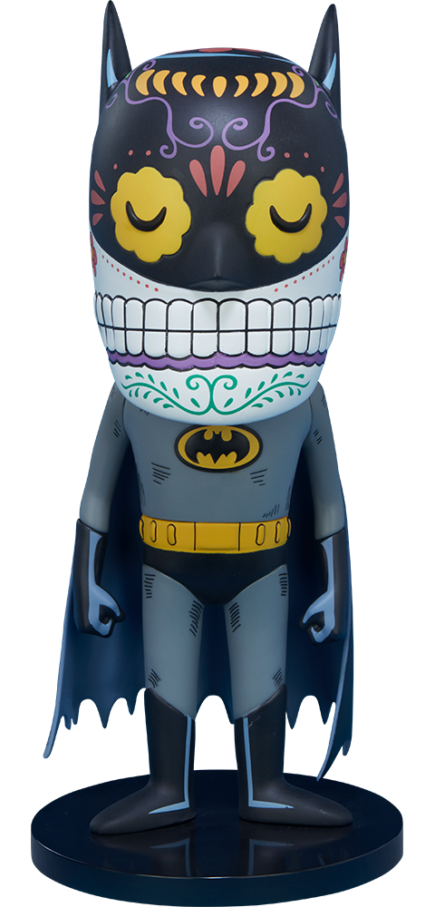 Unruly Industries(TM) Batman Calavera Designer Collectible Toy