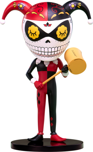 Harley Quinn Calavera Designer Collectible Toy