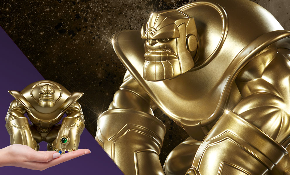 Gallery Feature Image of The Mad Titan Gold Edition Designer Collectible Toy - Click to open image gallery