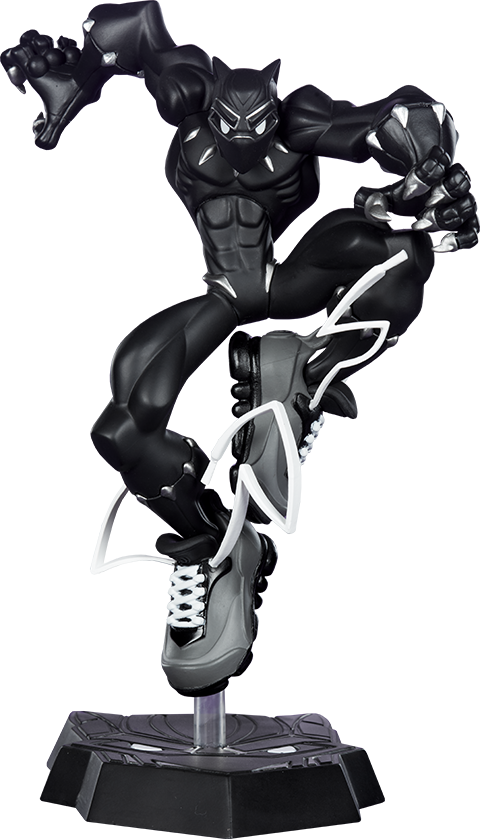 Unruly Industries(TM) T'Challa Designer Collectible Toy