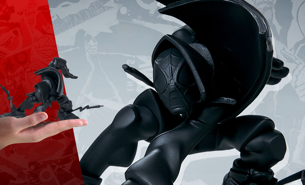 Gallery Feature Image of Miles (Matte Black Version) Designer Collectible Toy - Click to open image gallery