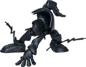 Miles (Matte Black Version) Designer Collectible Toy