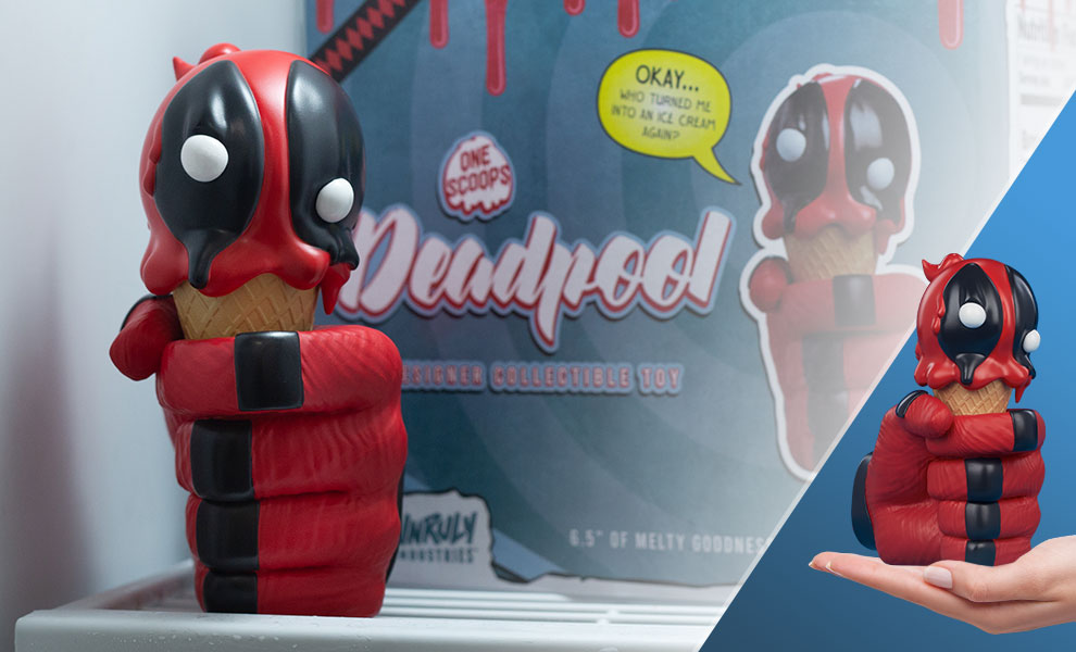 Gallery Feature Image of Deadpool: One Scoops Designer Collectible Toy - Click to open image gallery
