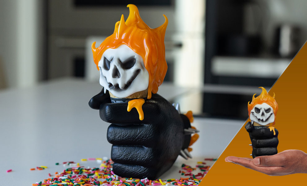 Gallery Feature Image of Ghost Rider: One Scoops Designer Collectible Toy - Click to open image gallery