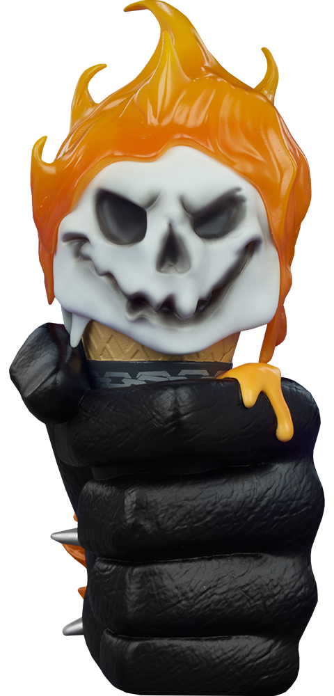 Unruly Industries(TM) Ghost Rider: One Scoops Designer Toy