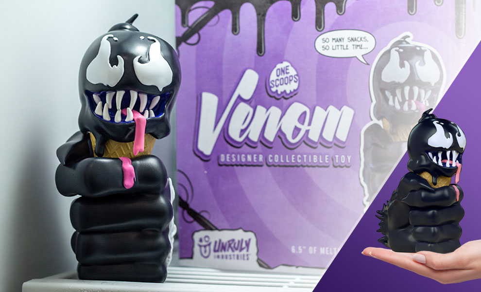 Gallery Feature Image of Venom: One Scoops Designer Collectible Toy - Click to open image gallery