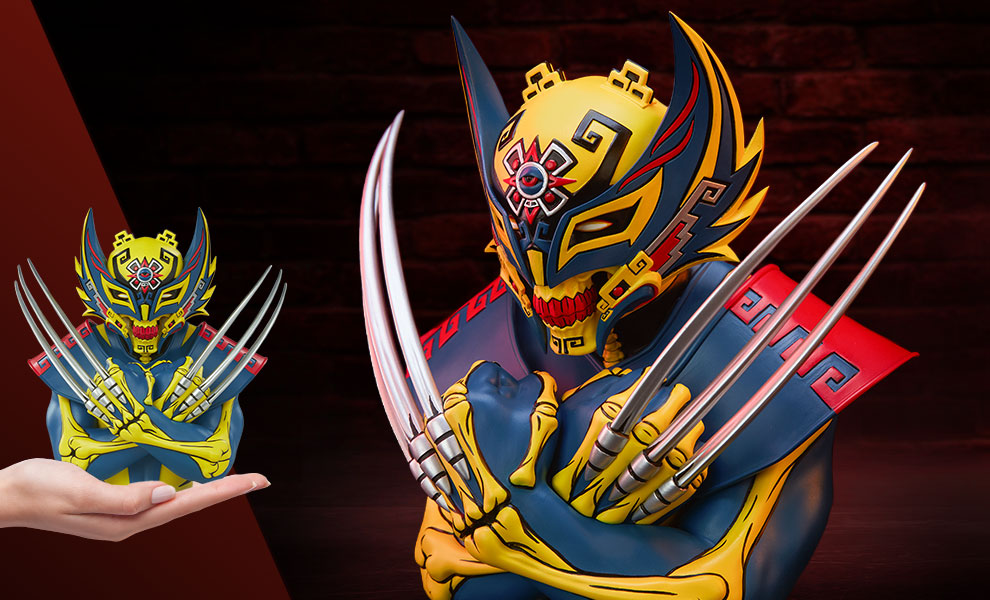 Gallery Feature Image of Wolverine Designer Collectible Toy - Click to open image gallery