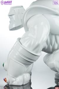 Gallery Image of Thanos (Infinity-Sized) Gloss White Edition Designer Collectible Toy