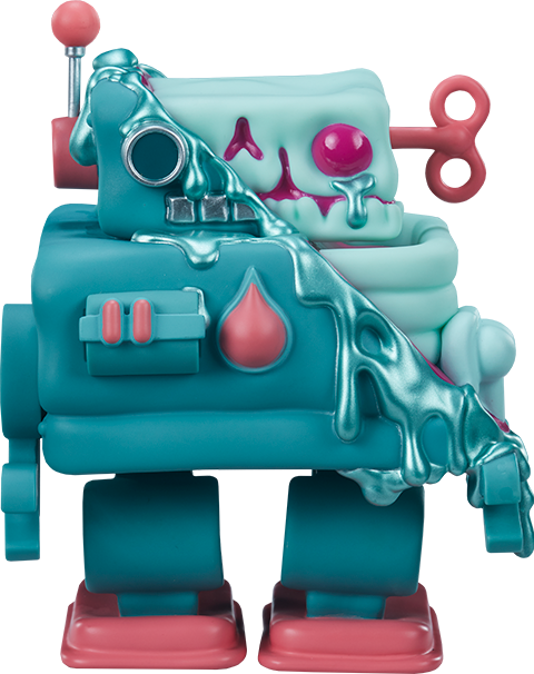 Unruly Industries(TM) Smelter Skelter Designer Collectible Toy
