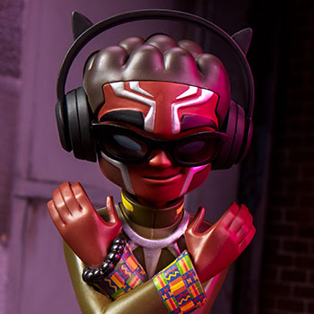 Black Panther Designer Collectible Toy