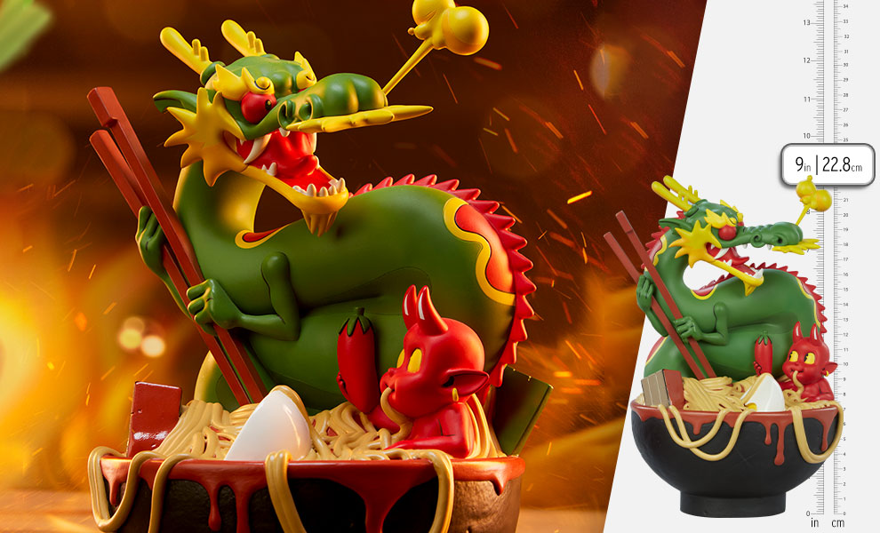 Gallery Feature Image of Ramen Demon Designer Collectible Toy - Click to open image gallery