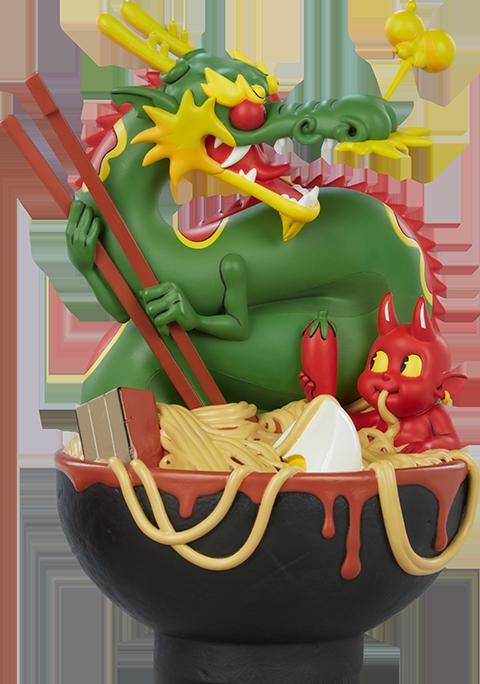 Unruly Industries(TM) Ramen Demon Designer Collectible Toy