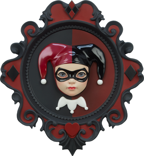 Atomic Misfit Harley Quinn Wall Hanging Miscellaneous Collectibles