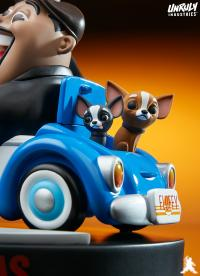 Gallery Image of Fluffy: The Fat and The Furious Designer Collectible Toy