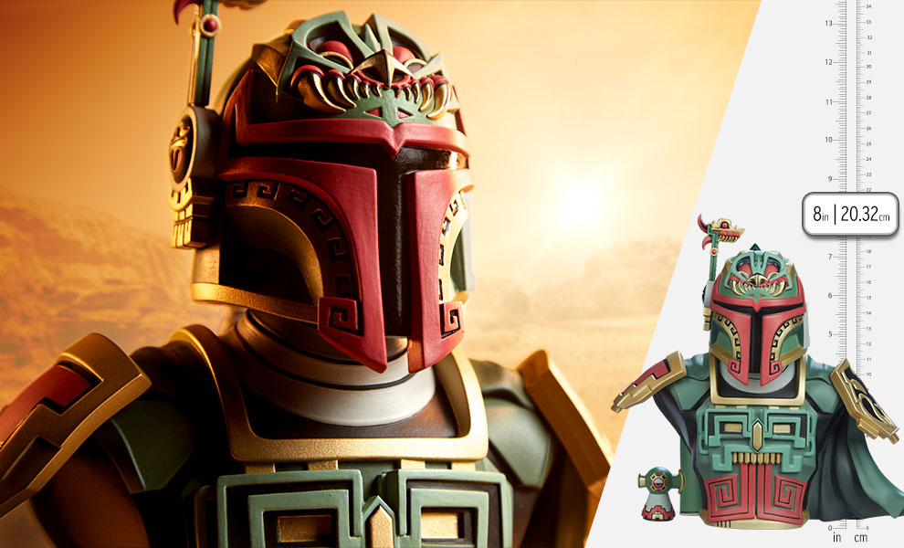 Gallery Feature Image of Boba Fett Bust - Click to open image gallery