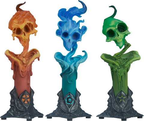 Sideshow Collectibles The Lighter Side of Darkness: Faction Candle Statue Set Statue
