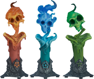The Lighter Side of Darkness: Faction Candle Statue Set Statue