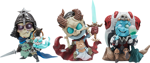 Sideshow Collectibles Kier, Relic Ravlatch, & Malavestros: Court-Toons Collectible Set Statue