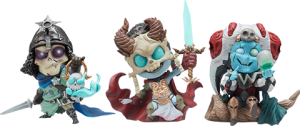 Kier, Relic Ravlatch, & Malavestros: Court-Toons Collectible Set Statue