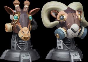 Ram and Giraffe Designer Collectible Toy