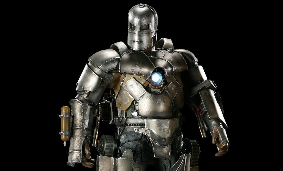 Gallery Feature Image of Iron Man Mark I Maquette - Click to open image gallery