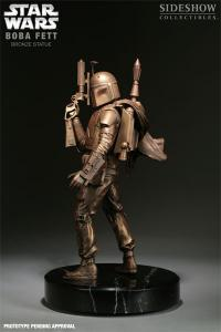 Gallery Image of Boba Fett Bronze Statue
