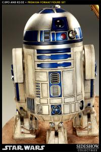 Gallery Image of C-3PO and R2-D2 Premium Format™ Figure