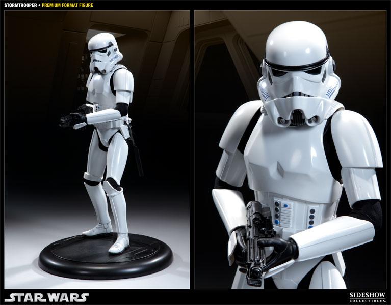 Star Wars Stormtrooper Premium Format Figure by Sideshow Col  38e6de4a26