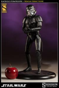 Gallery Image of Blackhole Stormtrooper Premium Format™ Figure