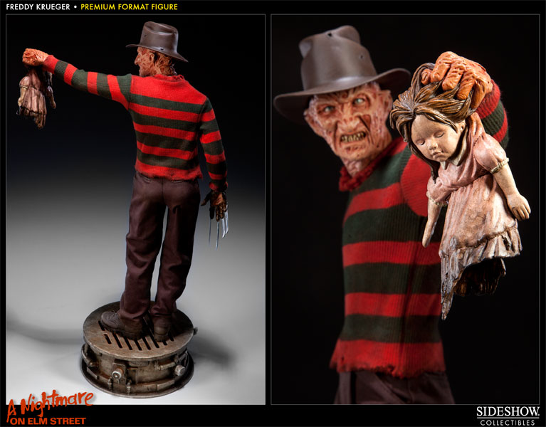 the latest 9a879 b8cee Freddy Krueger Premium Format Figure by Sideshow Collectibl   Sideshow  Collectibles
