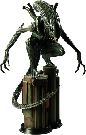 Alien Warrior Maquette