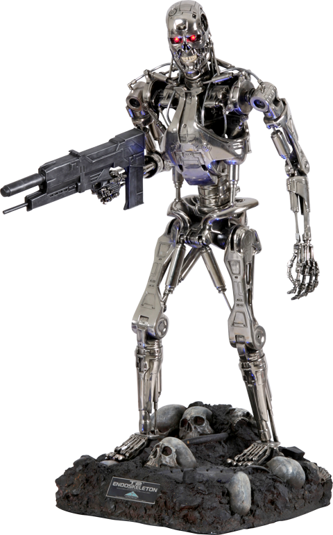Hollywood Collectors Gallery T-800 Endoskeleton 1:2 Scale Replica Scaled Replica