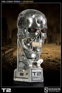 Gallery Image of T-800: Combat Veteran  Life-Size Bust