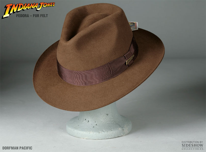 Indiana Jones Indiana Jones Fedora Apparel by Dorfman Pacific ... 43926e8bb5b