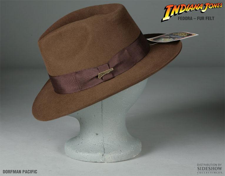 e2805530ef901 Indiana Jones Indiana Jones Fedora Apparel by Dorfman Pacific ...