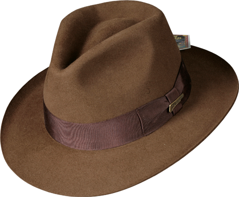 Indiana Jones Indiana Jones Fedora Apparel by Dorfman Pacific ... 0fcc2b8995c2