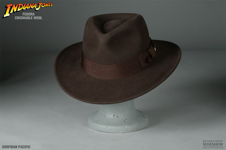 Indiana Jones Indiana Jones Fedora Apparel by Dorfman Pacifi  a4c72a23dad