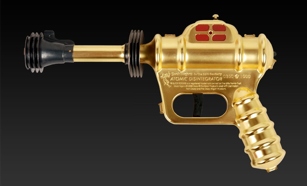 Gallery Feature Image of Buck Rogers Atomic Disintegrator Prop Replica - Click to open image gallery